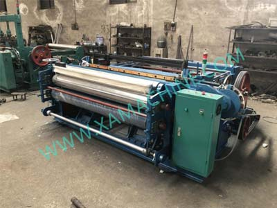 Shuttleless Wire Mesh Weaving Machine